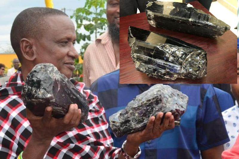 Tanzanian Farmer Becomes Millionaire after Unearthing Rare Twin Gemstones Weighing Over 16 kg