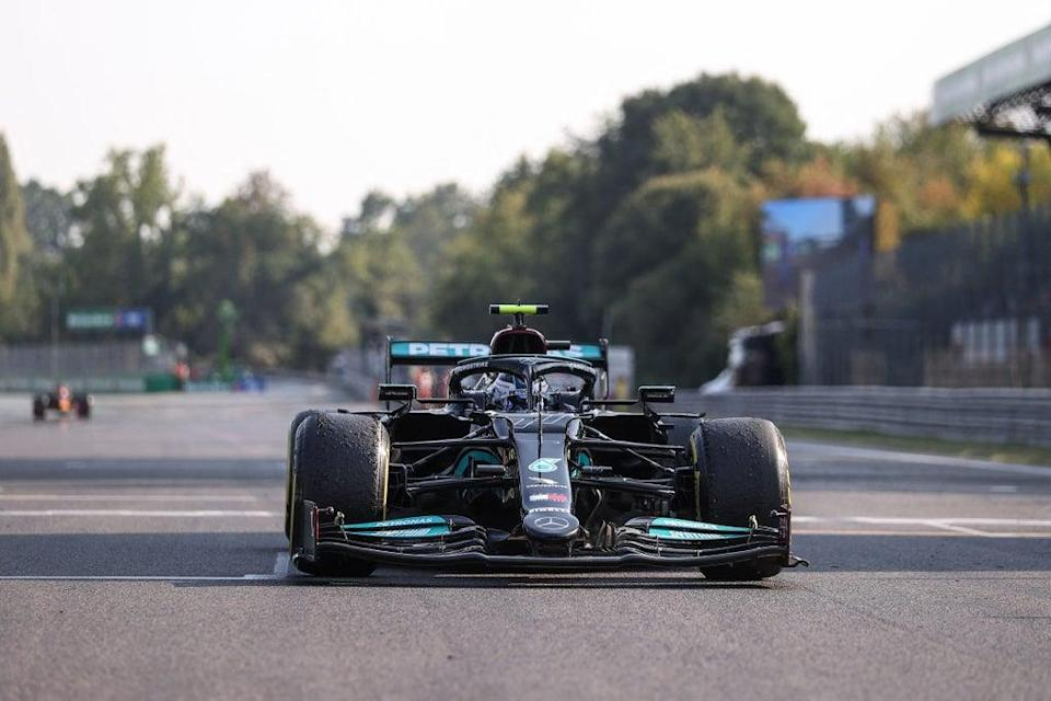 Valtteri Bottas won the second ever F1 sprint race ahead of this month's Italian GP (POOL/AFP via Getty Images)