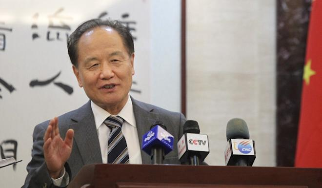 Wu Sike, a former Chinese special envoy to the Middle East, was among the signatories to the open letter. Photo: Xinhua