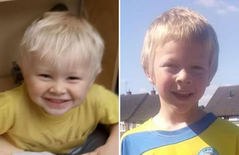 Casper and Corey Platt-May were killed in February by a car driven by Robert Brown