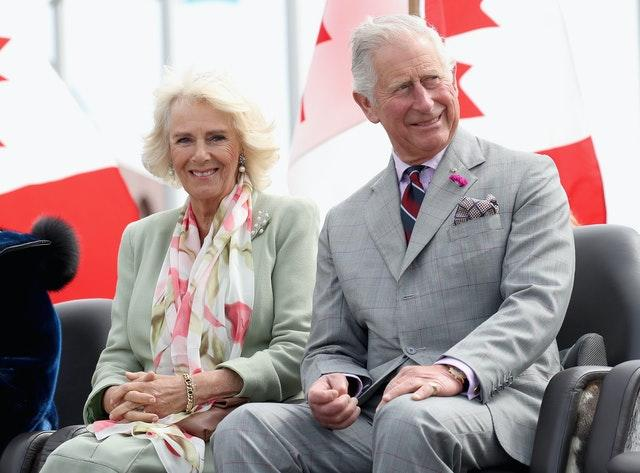 Charles, pictured during a visit to Canada with wife Camilla, has been talking to the country's indigenous people. Chris Jackson/PA Wire