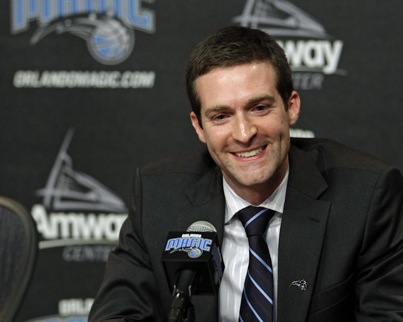 Rob Hennigan was hired in June 2012. (AP)