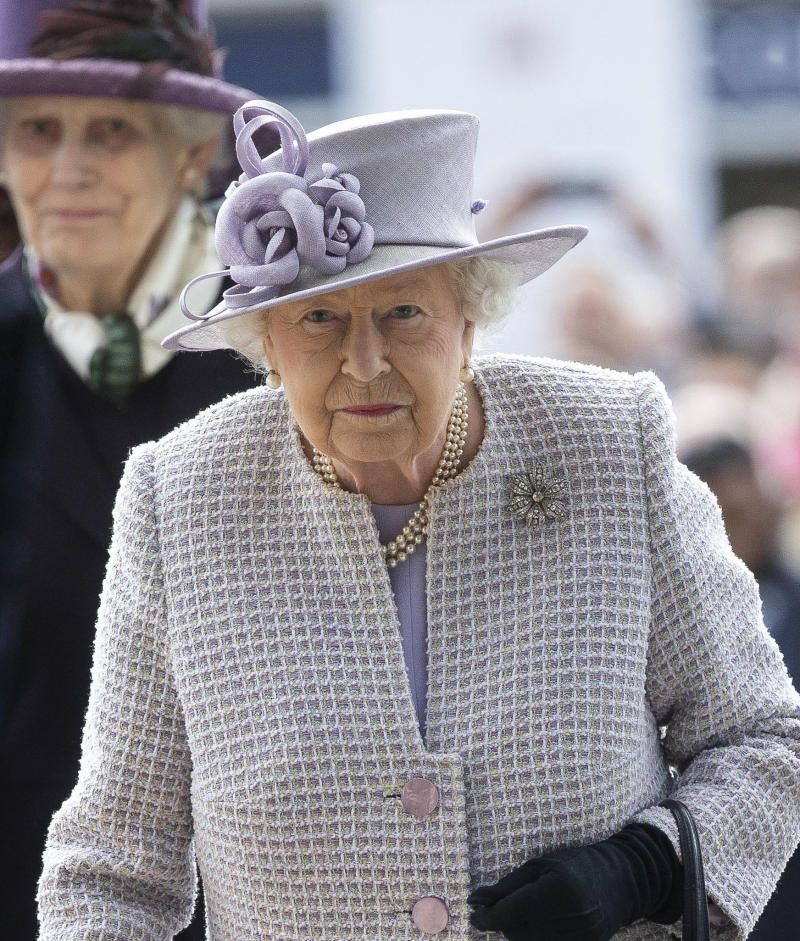 APRIL 21, 2020 - Her Majesty Queen Elizabeth II turns 94 years of age - File Photo by: zz/KGC-107/STAR MAX/IPx 2019 10/19/19 Her Majesty Queen Elizabeth II attends QIPCO British Champions Day at Ascot Racecourse. (Ascot, Berkshire, England, UK)