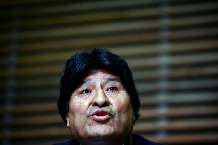 Former president of Bolivia Evo Morales, pictured in February 2020, is accused of having an alleged sexual relationship with a minor