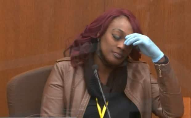Shawanda Hill, who was in the car with Floyd at the time of his initial arrest, testifies at Chauvin's trial on Tuesday.