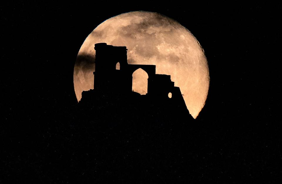 Supermoon castle