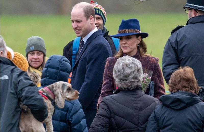 Prince William and Kate Middleton | Joe Giddens/PA Wire
