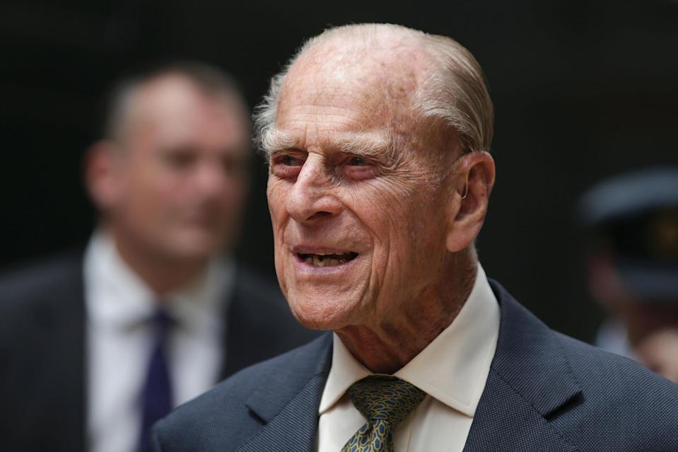 Prince Philip was admitted to hospital following an infection. (AFP/Getty Images)