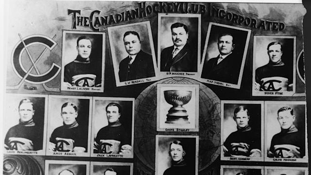 The Montreal Canadiens were involved in the only Stanley Cup Final to never be awarded, due to the influenza pandemic. (Bruce Bennett Studios via Getty Images Studios/Getty Images)