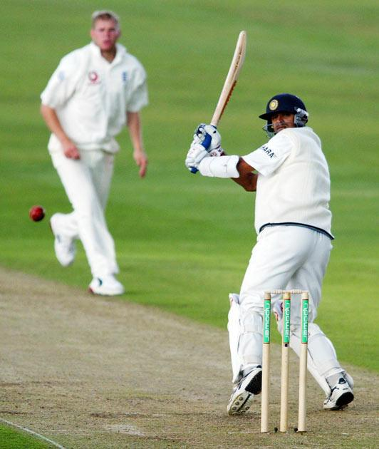 In August 2002, against England at Leeds in the third Test match of the series, he scored 148 in the first innings to set up a famous Indian win. He ended the four-match series with 602 runs and was named Player of the series.