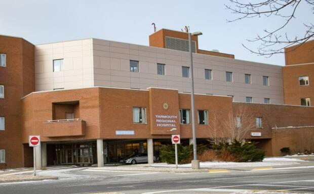 The majority of the funds generated from the $22 million donation will be spent on equipment and programs at Yarmouth Regional Hospital. (Robert Short/CBC - image credit)