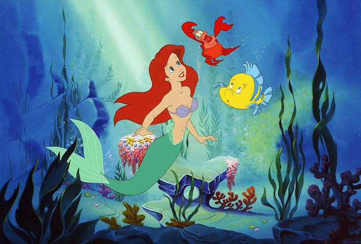The original animated The Little Mermaid is now available to stream on Disney+