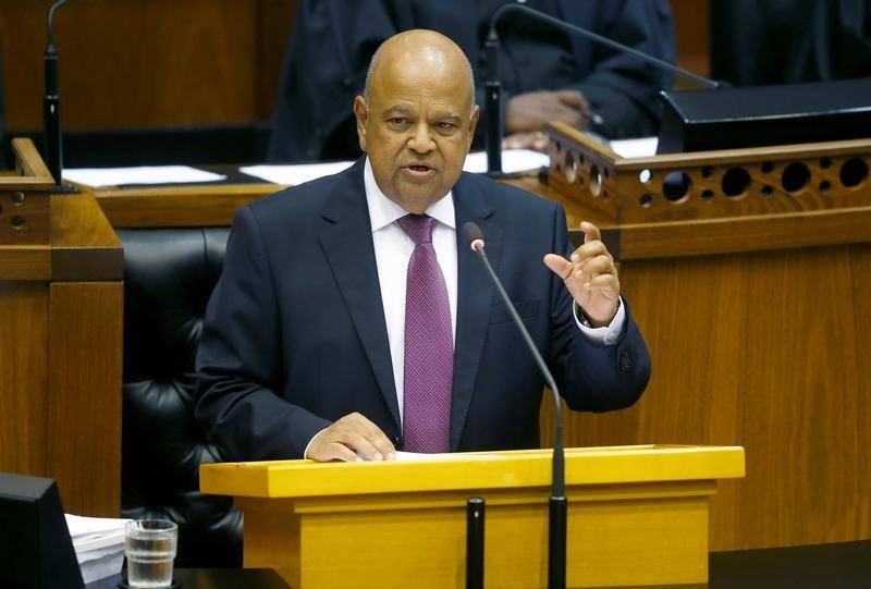 Finance Minister Pravin Gordhan delivers his 2017 Budget Speech to Parliament in Cape Town