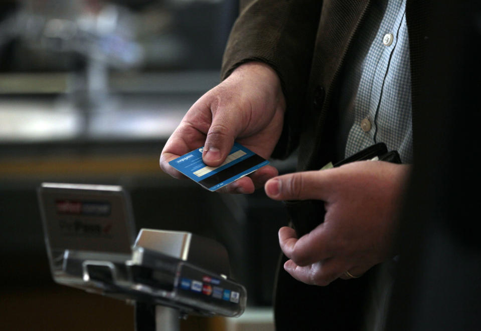 Make sure you can pay for what you're charging. (Photo: AP Photo/Luis Hidalgo, File)
