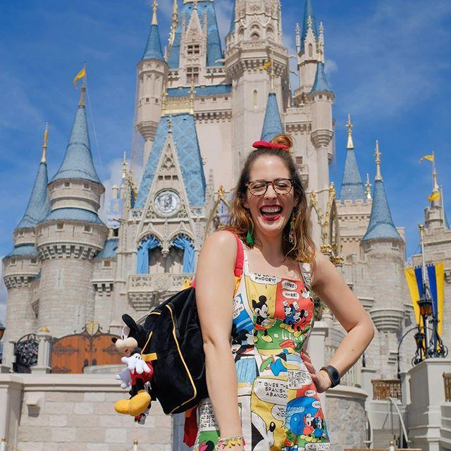 """<p>Carlye is a rare breed in that she is a delightful human being <em>and </em>a theme park journalist by trade. Come for her thoroughly vetted reporting, stay for her extremely relatable obsession with caramel corn. </p><p><a href=""""https://www.instagram.com/p/B8m28KPneck/"""" rel=""""nofollow noopener"""" target=""""_blank"""" data-ylk=""""slk:See the original post on Instagram"""" class=""""link rapid-noclick-resp"""">See the original post on Instagram</a></p>"""