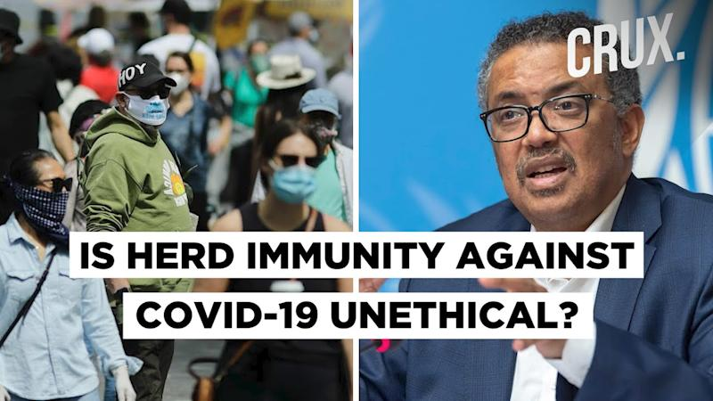 WHO Chief Warns Against Herd Immunity As A Response To COVID-19 Pandemic
