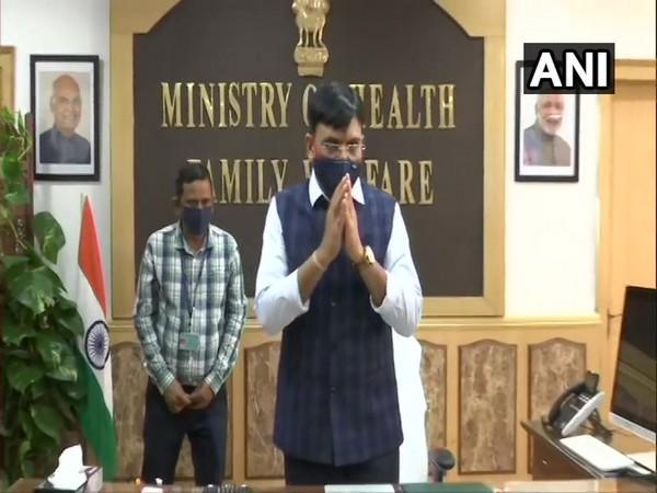 Mansukh Mandviya was inducted as new Health and Family Affairs Minister in the Union Cabinet reshuffle on Wednesday