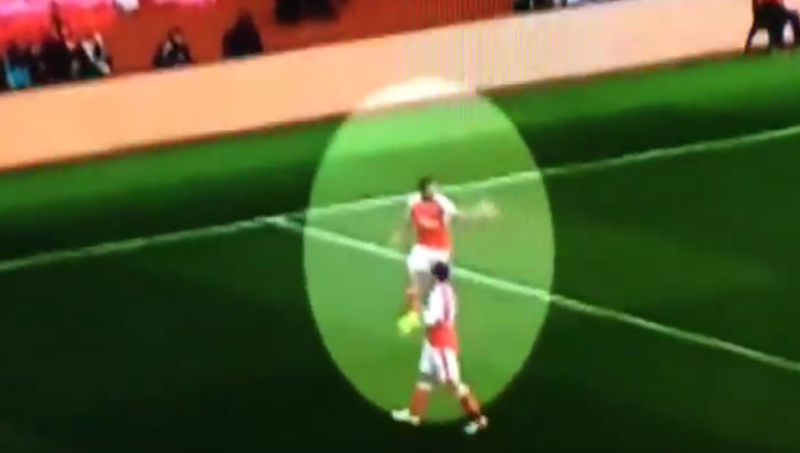 VIDEO: Alexis Sanchez Had to Force Arsenal Players to Celebrate Mustafi's Equaliser vs City