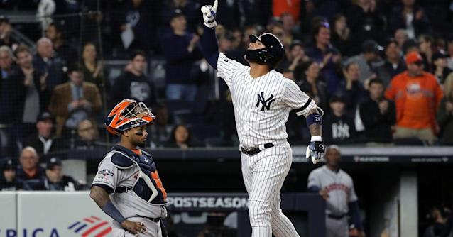 Gleyber Torres brought power to the Yankees' lineup