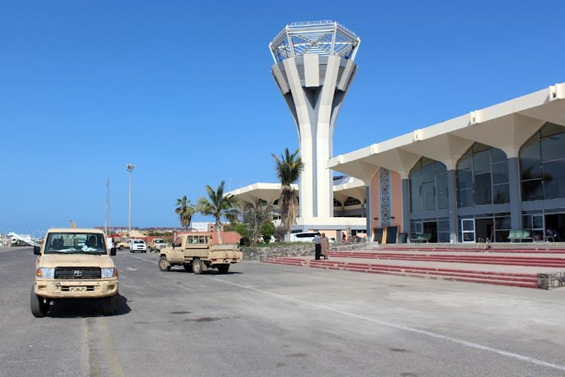 Aden's international airport (AFP Photo/Saleh al-Obeidi)