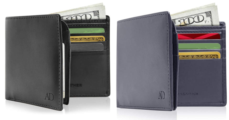 Access Denied Vegan Leather Bifold Wallet For Men (Photo: Amazon)
