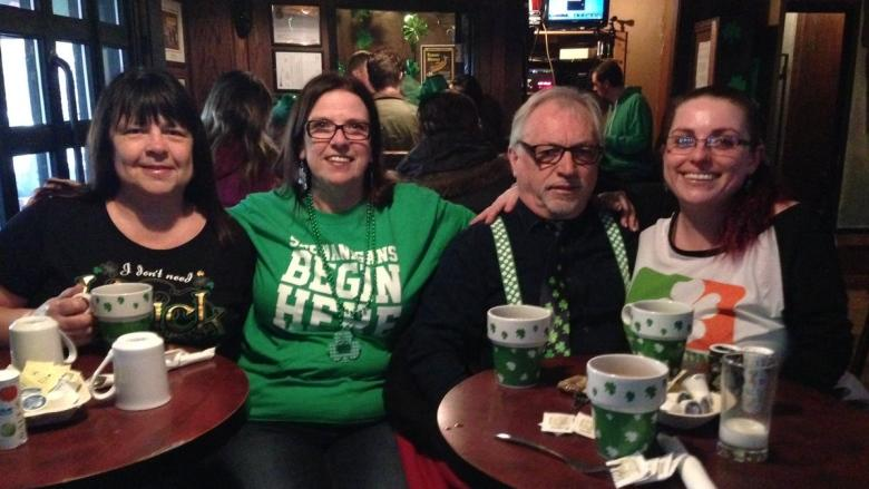 Celebrating St. Patrick's Day with dancing, costumes and good spirits