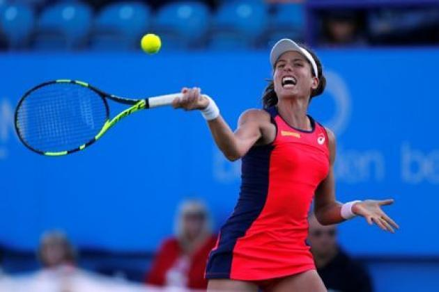 Dramatic double for Konta as Halep's No.1 hopes dashed
