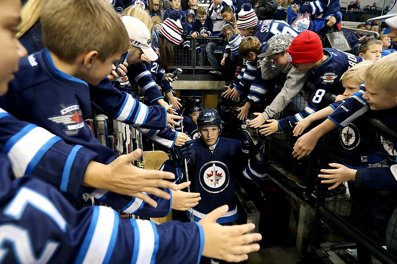 "<p><b>Patrik Laine</b> is reminiscent of another young Finn - the great Teemu Selanne - that came to Winnipeg and took the NHL by storm. As an 18-year-old, he's already one of the top goal scorers in the league. ""I've never seen anybody score goals like Patrik Laine does in practice. Ever, in 20 years,"" Jets coach Paul Maurice told <a rel=""nofollow"" href=""https://www.nhl.com/player/patrik-laine-8479339"">NHL.com</a>. ""There are guys that are good shooters in practice and they can't seem to find a way to translate that into a game. But he has a gift, there's no question about it. It's a different shot."" (Getty Images) </p>"