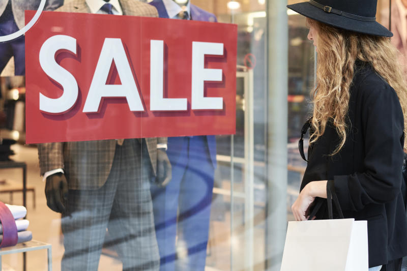 Some brands and retailers offer Black Friday and Cyber Monday deals in shops too.