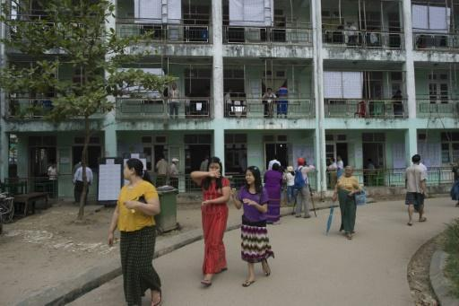 Mixed bag for Suu Kyi's party as Myanmar ballots counted