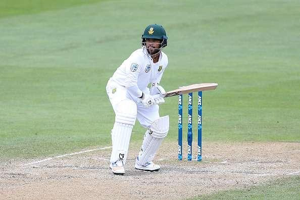 DUNEDIN, NEW ZEALAND - MARCH 11: JP Duminy of South Africa bats during day four of the First Test match between New Zealand and South Africa at University Oval on March 11, 2017 in Dunedin, New Zealand. (Photo by Dianne Manson/Getty Images)