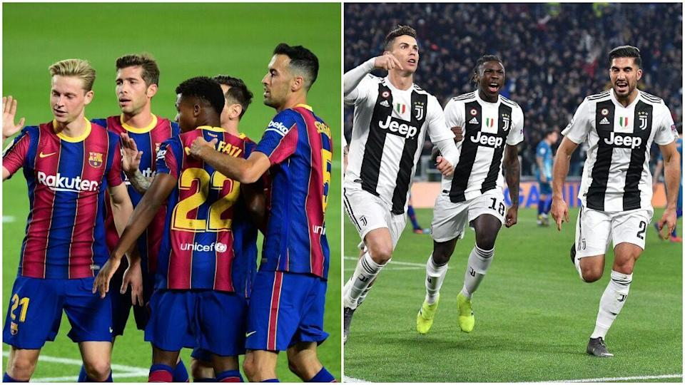 Juventus Vs Barcelona : Dembele And Late Messi Penalty ...