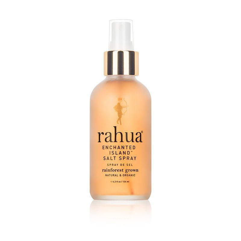 """<p><strong>Rahua</strong></p><p>dermstore.com</p><p><strong>$32.00</strong></p><p><a href=""""https://go.redirectingat.com?id=74968X1596630&url=https%3A%2F%2Fwww.dermstore.com%2Fproduct_Enchanted%2BIsland%2BSalt%2BSpray_72229.htm&sref=https%3A%2F%2Fwww.marieclaire.com%2Fbeauty%2Fnews%2Fg2902%2Fbest-beach-wave-salt-sprays%2F"""" rel=""""nofollow noopener"""" target=""""_blank"""" data-ylk=""""slk:SHOP IT"""" class=""""link rapid-noclick-resp"""">SHOP IT</a></p><p>Combining natural elements, like organic pink sea salt for texture and volume, this salt spray delivers sun-kissed waves with a brushable hold. Plus, its intoxicating scent of of guayaba, hibiscus, and passion fruit will transport you to the tropics.</p>"""
