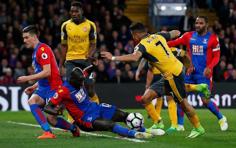 Mamadou Sakho was a titan in defence for Palace - Credit: Reuters
