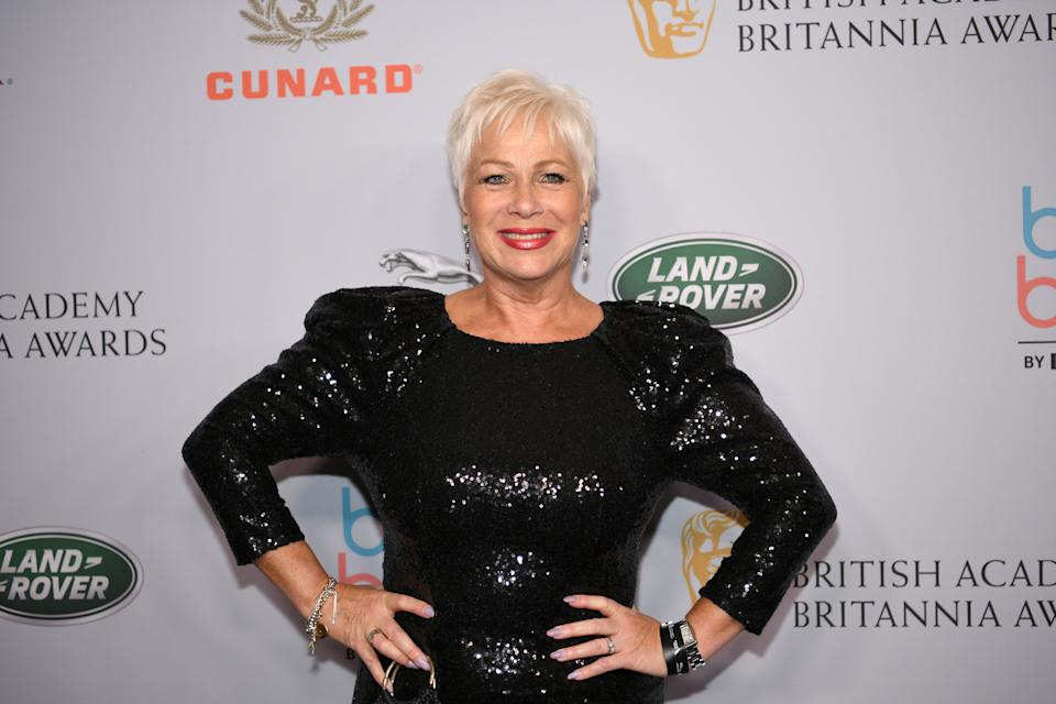 Denise Welch attends the 2019 British Academy Britannia Awards presented by American Airlines and Jaguar Land Rover at The Beverly Hilton Hotel on October 25, 2019 in Beverly Hills, California. (Photo by Morgan Lieberman/WireImage)