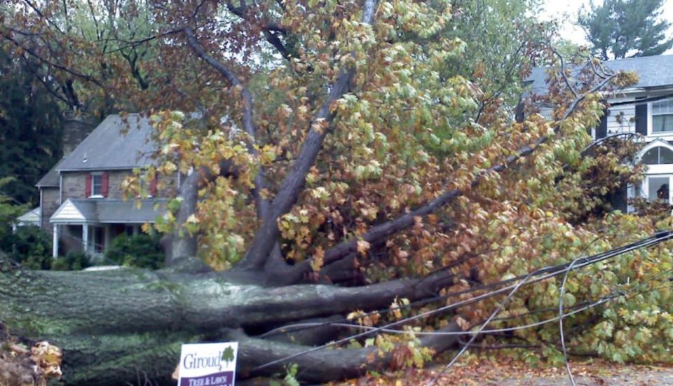 October 25, 2012 - Hurricane Sandy at its strongest