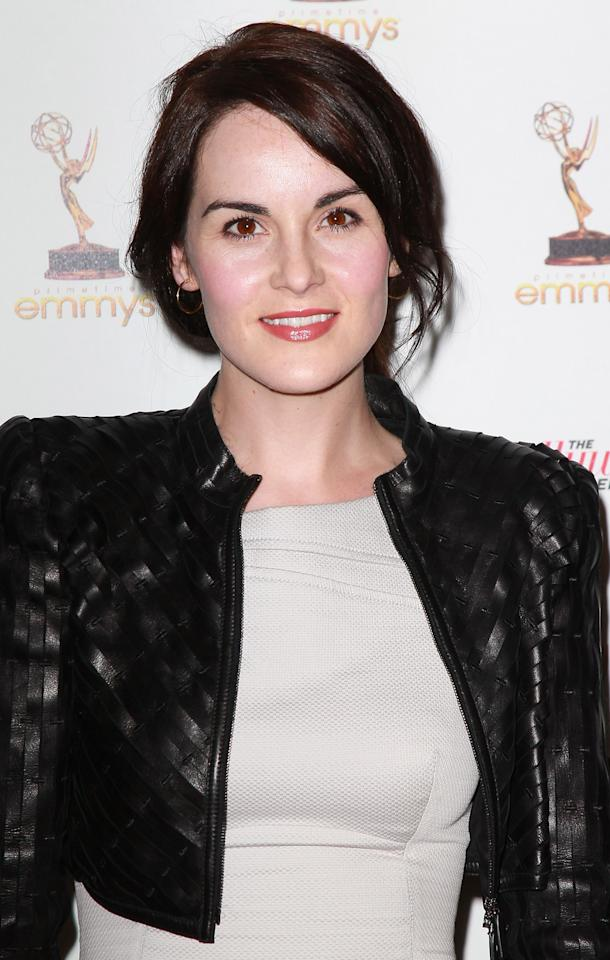 WEST HOLLYWOOD, CA - SEPTEMBER 16:  Actress Michelle Dockery attends the Academy of Television Arts & Sciences' 63rd Primetime Emmy Awards performers nominee reception at Spectra on September 16, 2011 in West Hollywood, California.  (Photo by David Livingston/Getty Images)