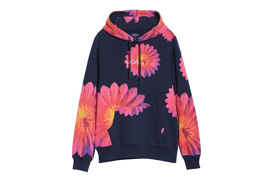 "$158, Nordstrom. <a href=""https://www.nordstrom.com/s/noah-x-b-52s-floral-cotton-hoodie-nordstrom-exclusive/5593439?origin=keywordsearch-personalizedsort&breadcrumb=Home&color=none"" rel=""nofollow noopener"" target=""_blank"" data-ylk=""slk:Get it now!"" class=""link rapid-noclick-resp"">Get it now!</a>"