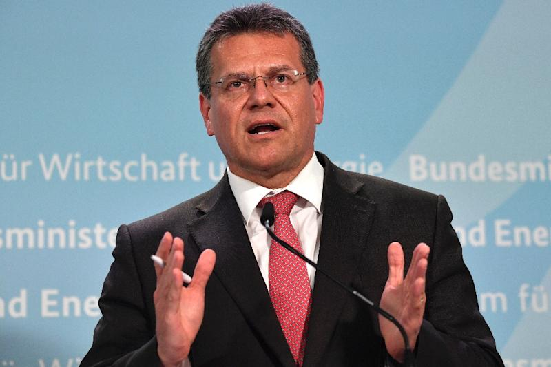 """The European Commission, which handles trade matters for the 28-country EU, """"expects to conclude the relevant procedure in coordination with member states before the end of June,"""" said European Commission Vice-President Maros Sefcovic"""