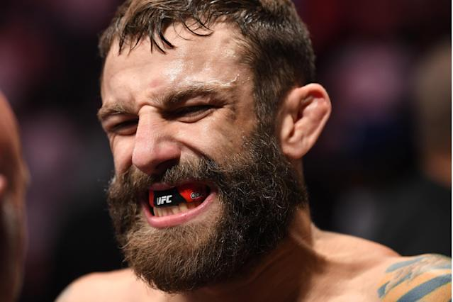 Michael Chiesa aims to be the No. 1 welterweight contender by the end of 2020. (Josh Hedges/Zuffa LLC)