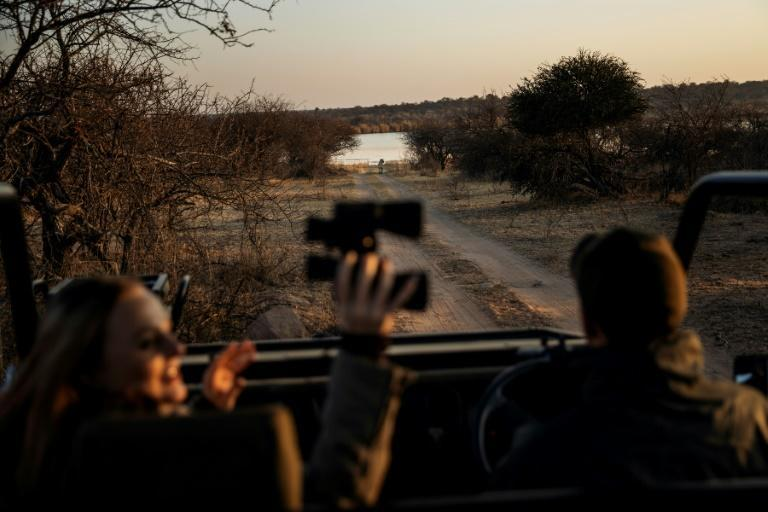Surf and safari: South Africa's natural treasures make it a magnet for foreign tourists (AFP/Michele Spatari)