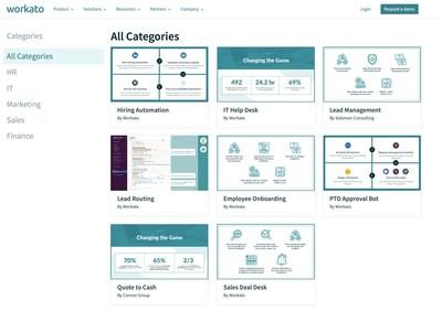 Best-in-class workflow automations across various business functions inside an enterprise