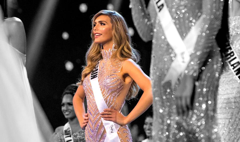 Angela Ponce, Miss Spain 2018, spoke with <em>Glamour</em> about the importance of gender identity and why she wants to sit down with President Trump.