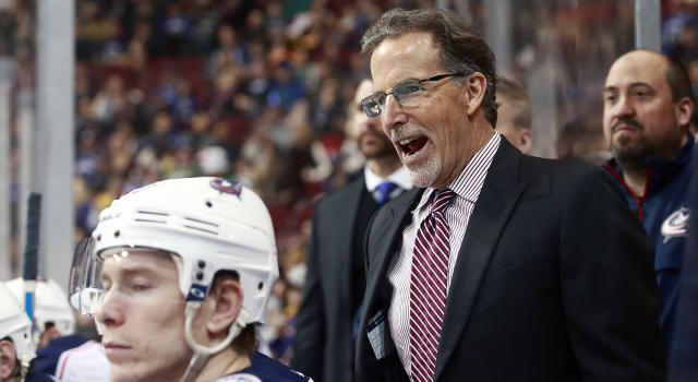 The Blue Jackets bench boss had some strong things to say about the current state of hockey. (Getty)
