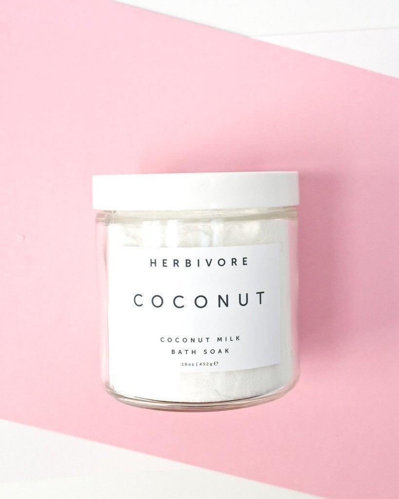 <p>You'll be hard pressed to find someone who won't enjoy unwinding in a bath filled with <span>Herbivore Botanicals All Natural Coconut Milk Bath Soak</span> ($32).</p>