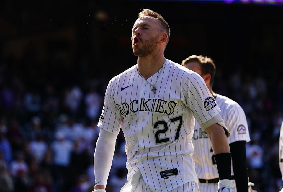 Trevor Story could command a hefty paycheck when he becomes a free agent after the season.