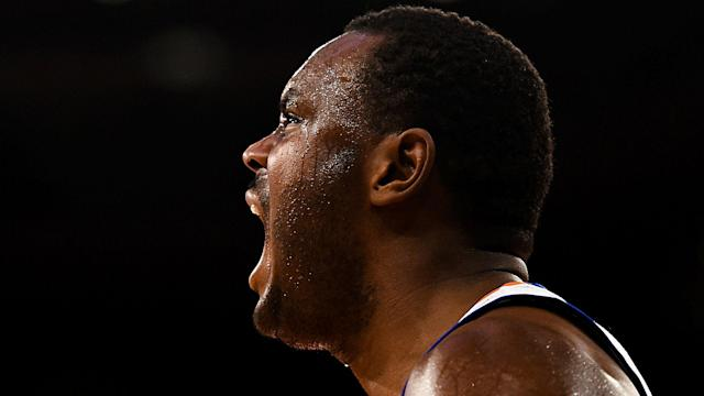 Former NBA player Samuel Dalembert was arrested Sunday in Boca Raton, Fla., and charged with striking his girlfriend and her cousin.
