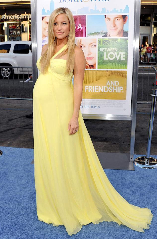 "<a href=""http://movies.yahoo.com/movie/contributor/1800018574"">Kate Hudson</a> attends the Los Angeles premiere of <a href=""http://movies.yahoo.com/movie/1810158033/info"">Something Borrowed</a> on May 3, 2011."