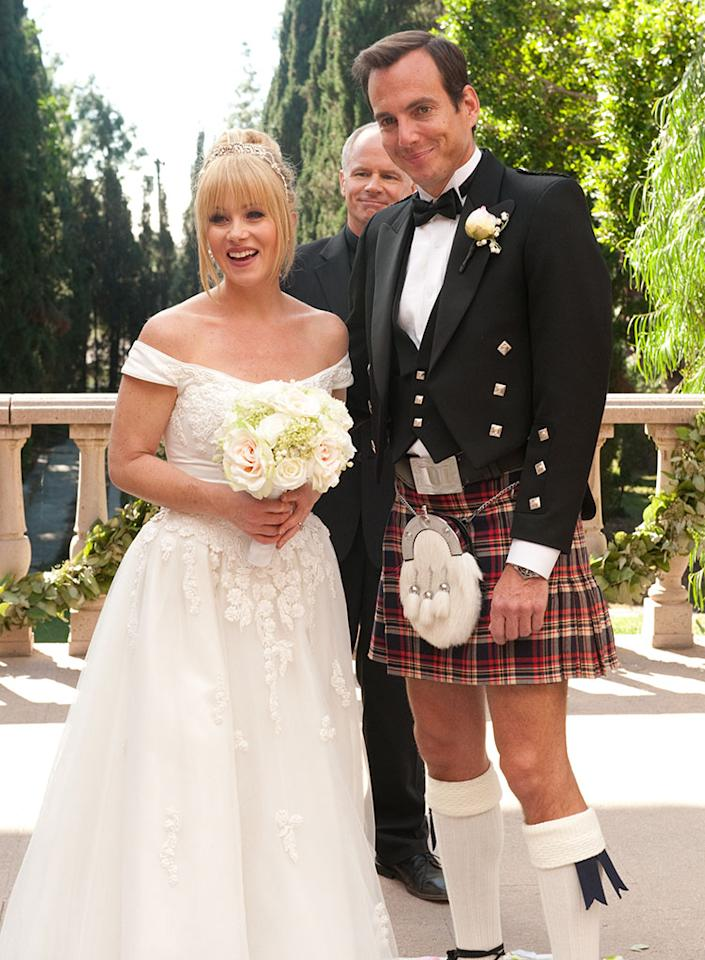 The wedding of Reagan Brinkley (Christina Applegate) and Chris Brinkley (Will Arnett) on ?Up All Night? (2012).