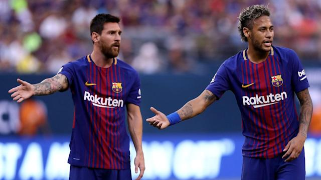 Real Madrid signing Neymar would be an awful prospect, according to Lionel Messi, who invited Sergio Aguero to join him at Barcelona.
